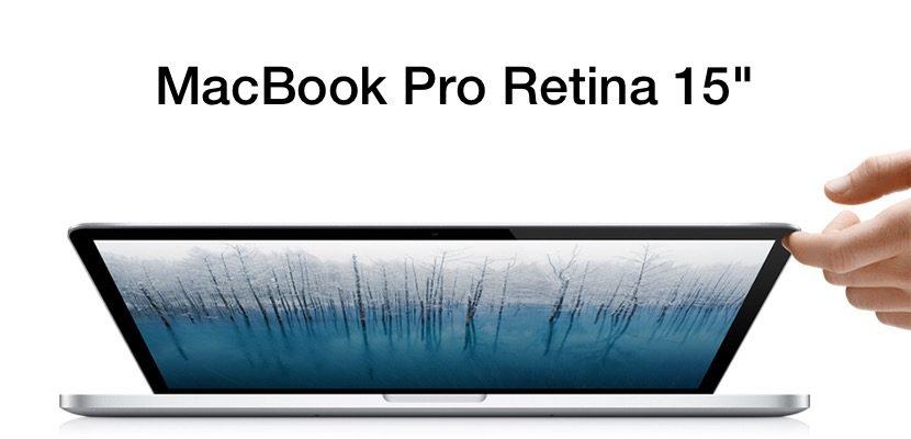 MacBook Pro Retina de 15 pulgadas
